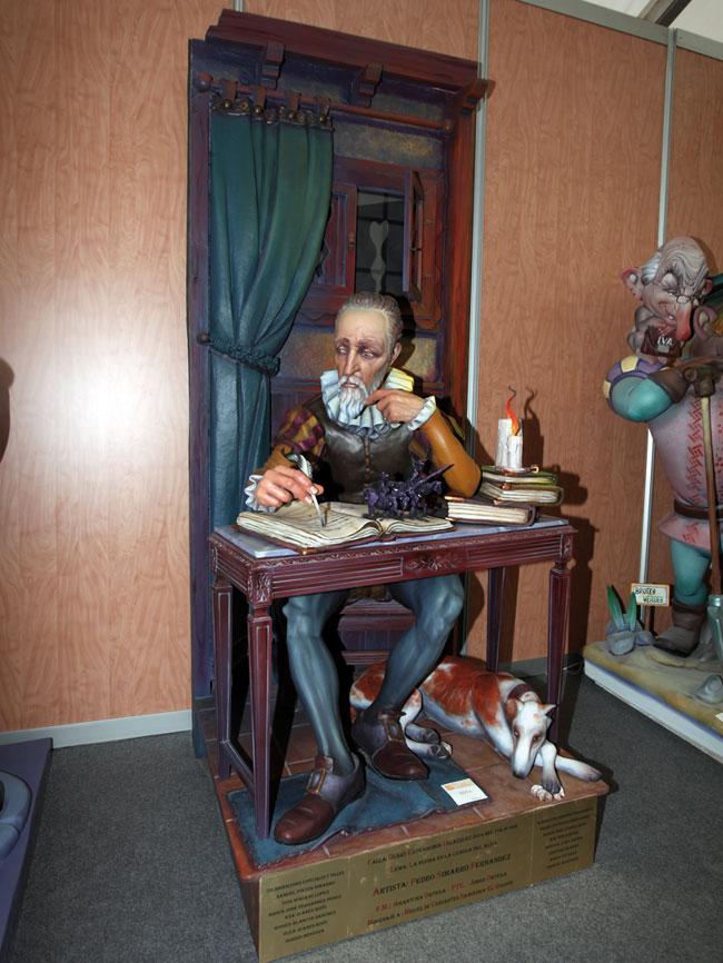 Ninot Indultad 2014. Artista - Pedro Simarro. Falla - Quart Extramuros-Velázquez