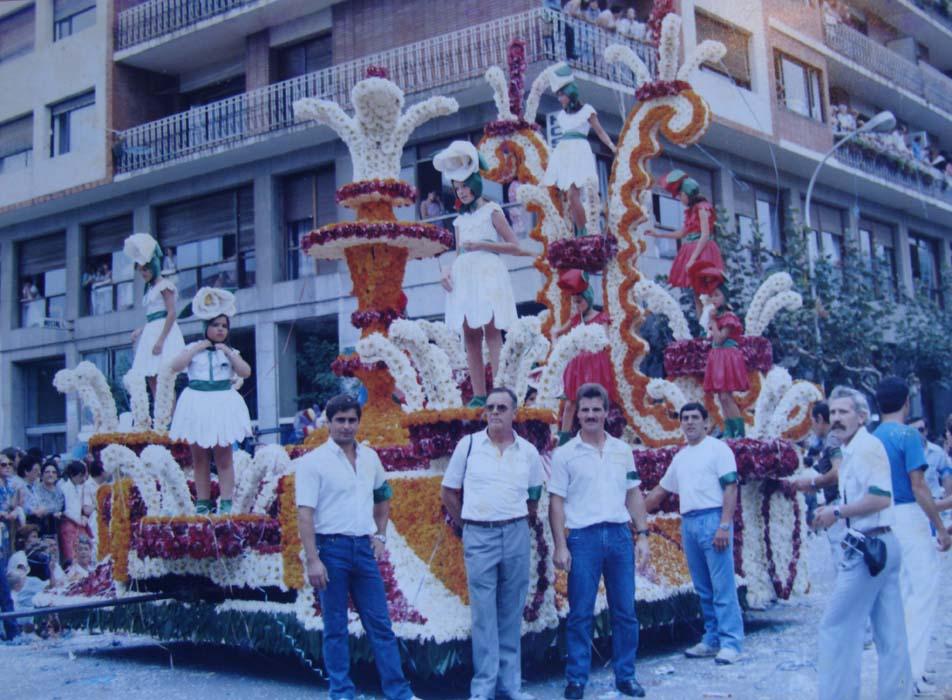 1985-Rosas vivientes-Alfonso Santisteban-11º premio