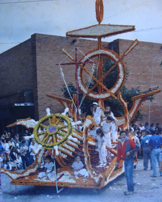 1986-Sin rumbo-Grupo Amigos-7º premio